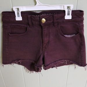 AEO Super Stretch High Rise Shortie